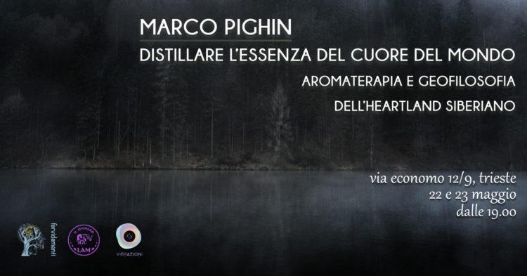 Locandina seminari Marco Pighin 22/23 maggio 2019