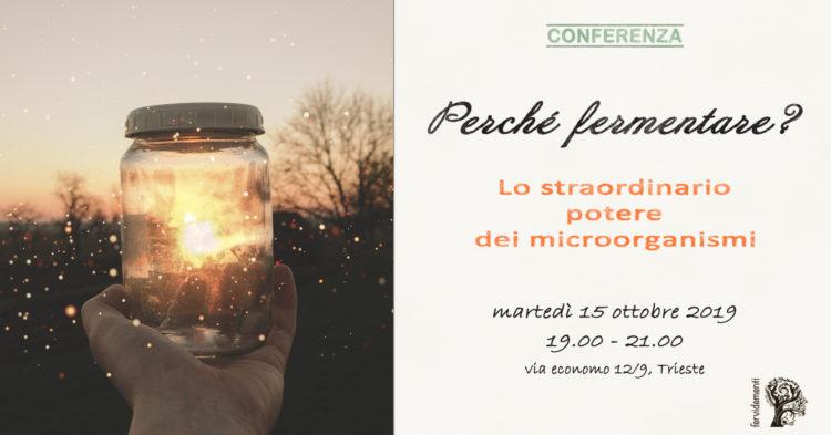Locandina conferenza fervìda ottobre 2019