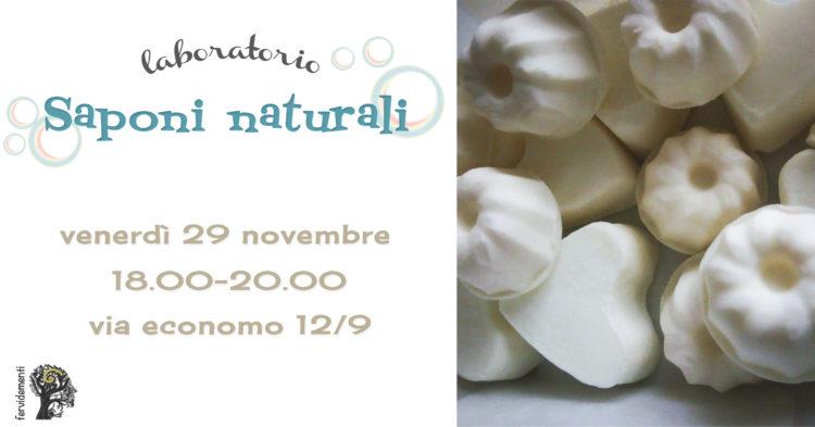 Laboratorio saponi naturali - novembre 2019